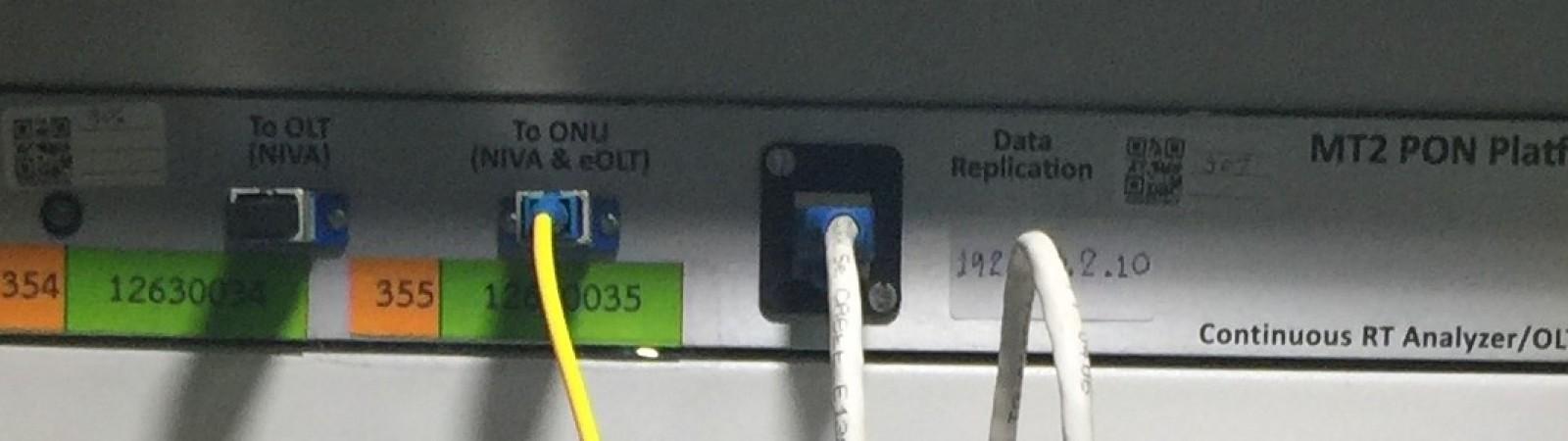 บริการทดสอบความเข้ากันได้ของอุปกรณ์ OLT กับ ONU/ONT : OLT and ONU/ONT Interoperability Testing Service : TR-247, TR-255