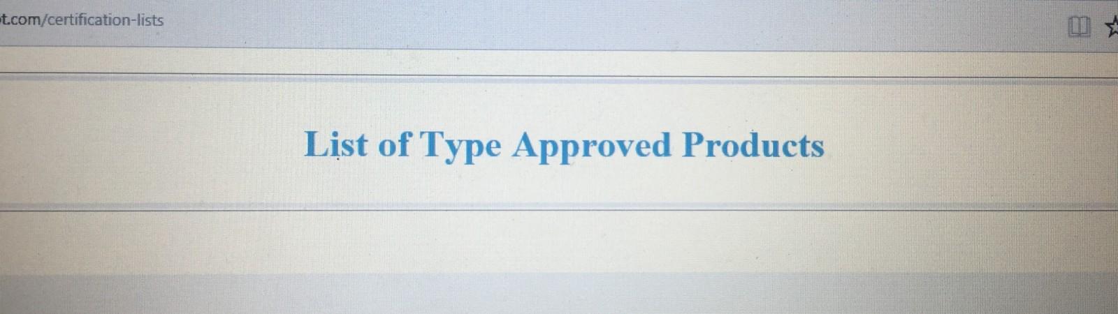 คลิกที่นี่ เพื่อตรวจสอบรายการของประเภทผลิตภัณฑ์ที่ผ่านเกณฑ์ข้อกำหนด : Click Here for Check the list of products that meet the requirements.