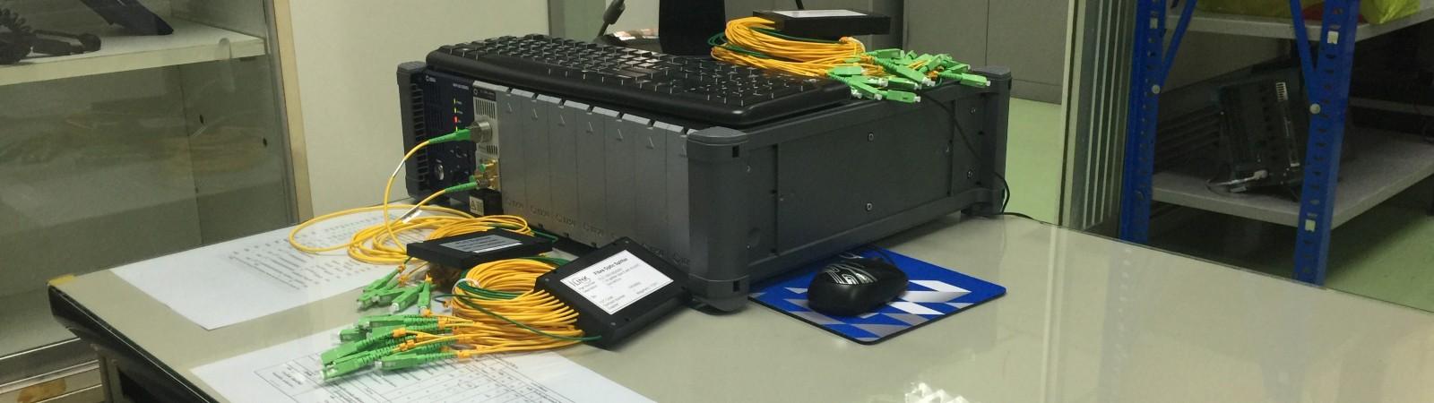 บริการทดสอบอุปกรณ์ Optical Spitter : Optical Spitter Testing Service